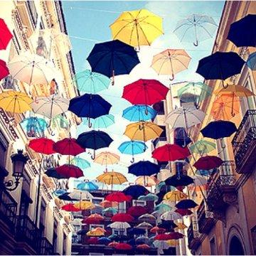 umbrella-sky