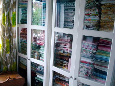 fabric storage, modish blog