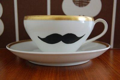 mustache+teacup