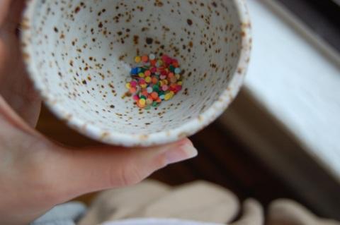 tiny confetti